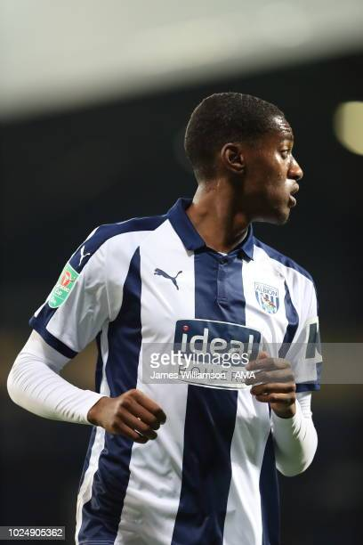 Conor Townsend of West Bromwich Albion during the Carabao Cup Second Round match between West Bromwich Albion and Mansfield Town at The Hawthorns on...