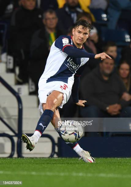 Conor Townsend of West Bromwich Albion during the Sky Bet Championship match between West Bromwich Albion and Derby County at The Hawthorns on...