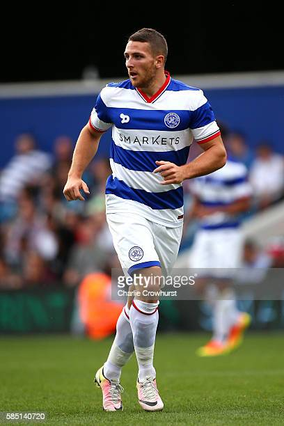 Conor Washington of QPR during the pre season friendly match between Queens Park Rangers and Watford at Loftus Road on July 30 2016 in London England
