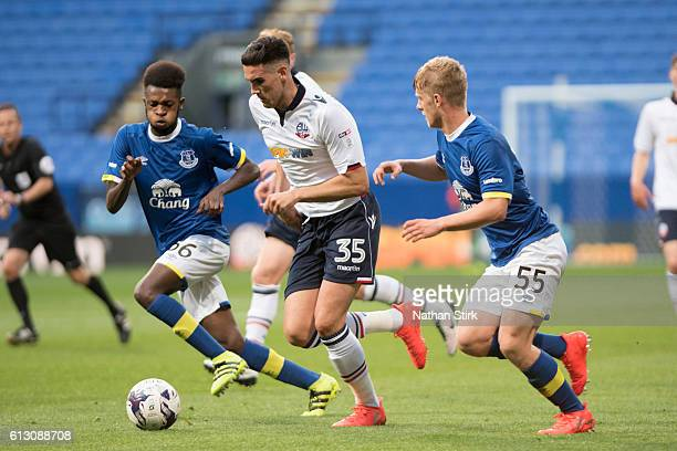 Conor Wilkinson of Bolton Wanderers during the Checkatrade Trophy group match between Bolton Wanderers and Everton under23s at Macron Stadium on...