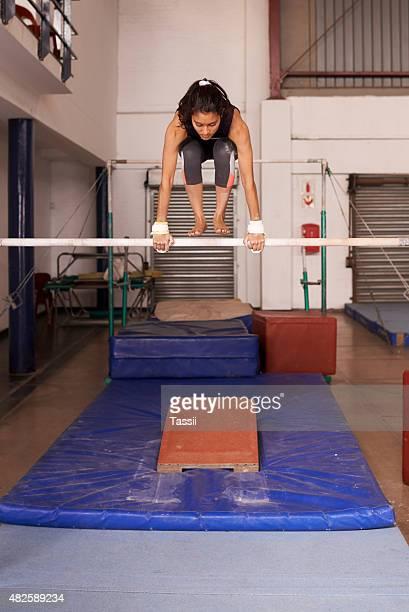 Conquering her gymnastic goals