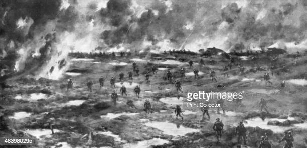 'Conquest of the WytschaeteMessines Ridge' Belgium First World War 7 June 1917