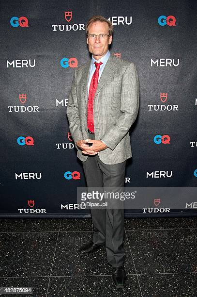 Conrad Anker attends the Meru New York Premiere at MoMA Titus One on August 3 2015 in New York City