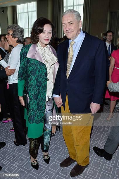 Conrad Black and Barbara Amiel attend the George Christy Luncheon during the 2013 Toronto International Film FestivalÊat Four Seasons Hotel on...