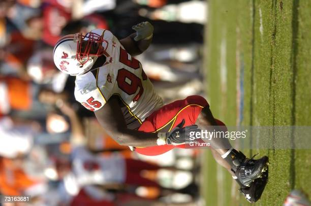 Conrad Bolston of the Maryland Terrapins rushes during the game against the Clemson Tigers November 4 2006 at Memorial Stadium in Clemson South...