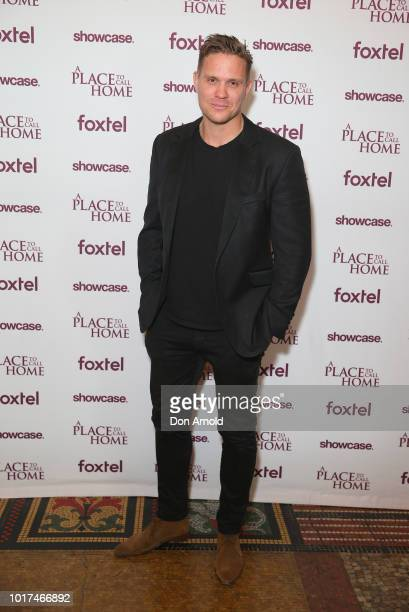 Conrad Coleby attends the premiere screening event for A Place To Call Home The Final Chapter at State Theatre on August 16 2018 in Sydney Australia