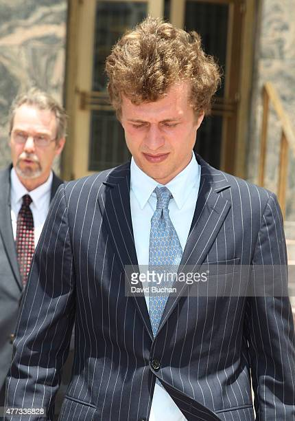 Conrad Hilton attends court for sentencing after causing a disturbance aboard an international flight from London to Los Angeles last summer at...