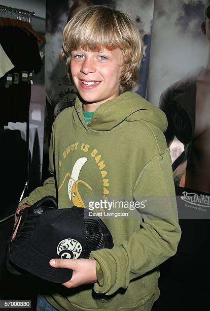 Conrad Hilton poses at Von Dutch at the 2006 Diamond Lounge By Nathalie Dubois in the Penthouse at Peterson Automotive Museum March 4, 2006 in Los...