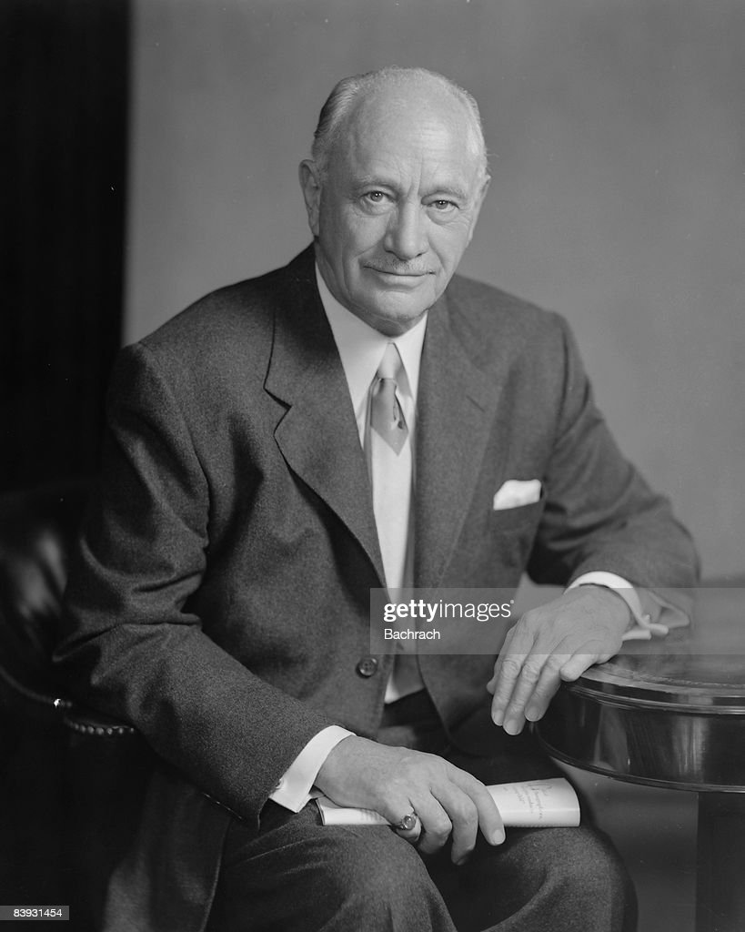 Portrait of Hotelier Conrad Hilton, Sr. : ニュース写真