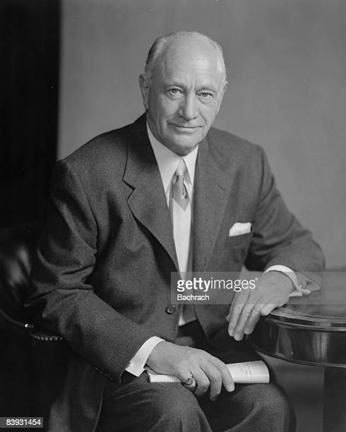 Conrad Hilton Sr founder of the Hilton hotel chain He is the great grandfather of Paris Hilton 1952 New York