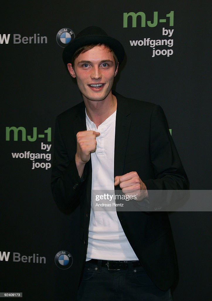 Conrad Matschke attends the launch to the MJ-1 by Wolfgang Joop at Berliner Freiheit on October 27, 2009 in Berlin, Germany.