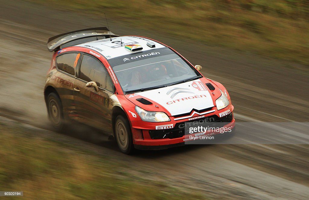 Wales Rally GB - Day Two : News Photo