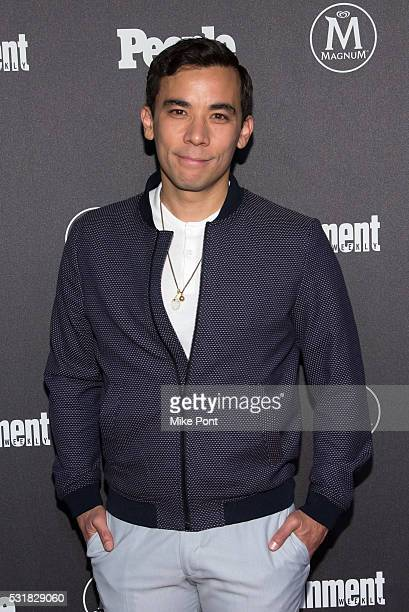Conrad Ricamora attends the 2016 Entertainment Weekly People New York Upfront at Cedar Lake on May 16 2016 in New York New York