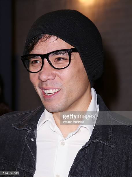 Conrad Ricamora attends the Broadway Opening Night Performance of 'Eclipsed' at Golden Theatre on March 6 2016 in New York City
