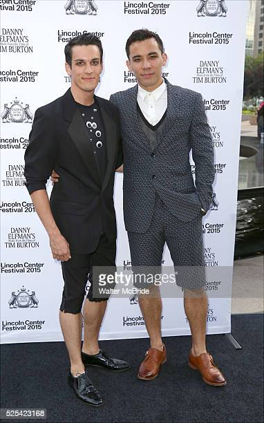 Conrad Ricamora attends the 'Danny Elfman's Music From The Films Of Tim Burton' 2015 Lincoln Center Festival Opening Night at Josie Robertson Plaza...
