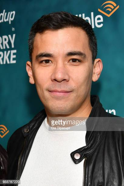 Conrad Ricamora attends the Harry Clarke Opening Night at the Minetta Lane Theatre on March 18 2018 in New York City