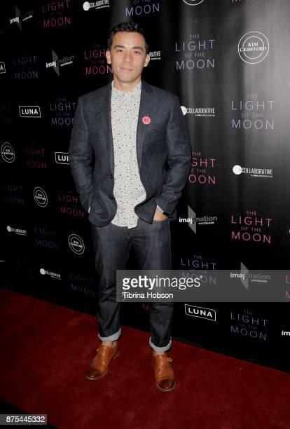 Conrad Ricamora attends 'The Light Of The Moon' Los Angeles premiere at Laemmle Monica Film Center on November 16 2017 in Santa Monica California