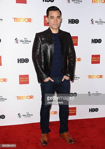 Conrad Ricamora attends TrevorLIVE LA 2015 at Hollywood Palladium on December 6 2015 in Los Angeles California