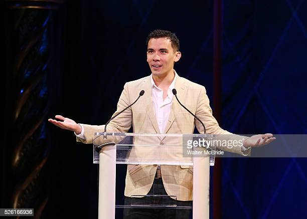 Conrad Ricamora during the 69th Annual Theatre World Awards Presentation at the Music Box Theatre in New York City on June 03 2013