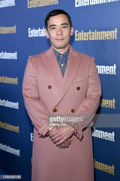 Conrad Ricamora is seen as Entertainment Weekly Celebrates Screen Actors Guild Award Nominees at Chateau Marmont on January 18 2020 in Los Angeles...