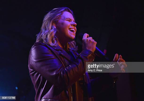Conrad Sewell performs at The Parish on February 2 2016 in Austin Texas