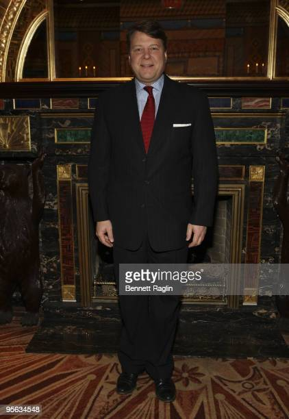 Conrad Wangeman, General Manager of Hilton New York attends the 8th Annual June Briggs Awards at the Russian Tea Room on January 7, 2010 in New York...
