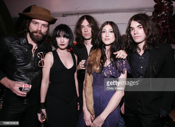 TC Conroy and Floria Sigismondi with Cory Becker Lillian Berlin and Eve Berlin of Living Things