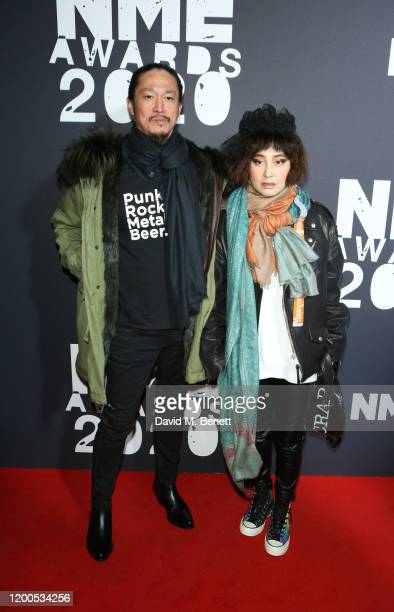 Conroy Chan and Josie Ho attend The NME Awards 2020 at the O2 Academy Brixton on February 12 2020 in London England