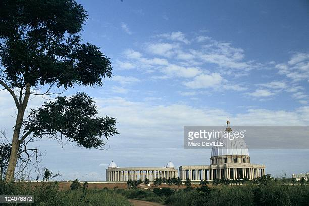 Consecration of Yamoussoukro Basilica by John Paul II in Côte D'Ivoire on September 10 1990