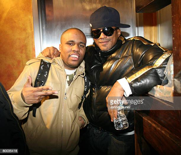 Consequence and QTip attends Smirnoff Launches Signature Mix Series February 26 2008 New York City NY