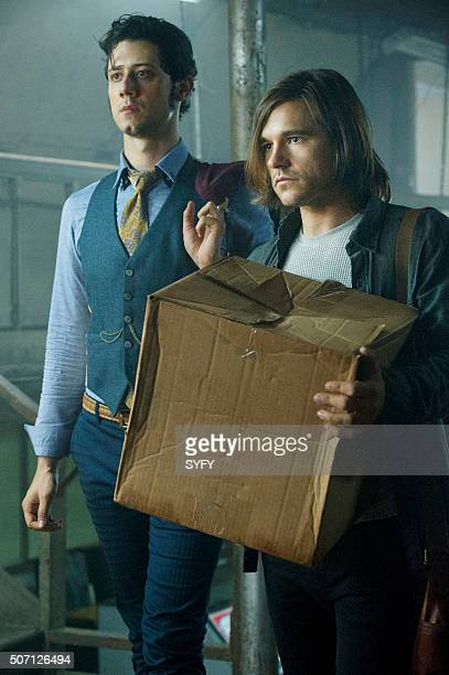 THE MAGICIANS Consequences of Advanced Spellcasting Episode 103 Pictured Hale Appleman as Eliot Jason Ralph as Quentin