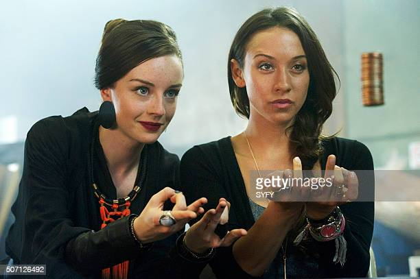 THE MAGICIANS Consequences of Advanced Spellcasting Episode 103 Pictured Kacey Rohl as Marina Stella Maeve as Julia