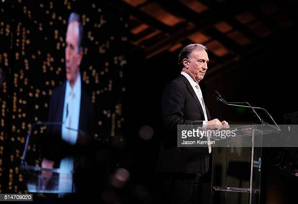 Conservation International CEO and Chairman Peter Seligmann speaks at the 20th Annual Los Angeles Gala Dinner hosted by Conservation International on...