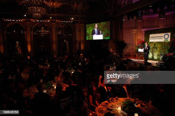 Conservation International Chairman and CEO Peter Seligmann attends the Conservation International 16th Annual New York Dinner at The Plaza Hotel on...