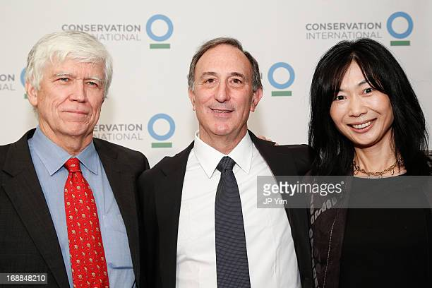 Conservation International President Russell A Mittermeier Chairman and CEO Peter Seligmann and guest attend the Conservation International 16th...