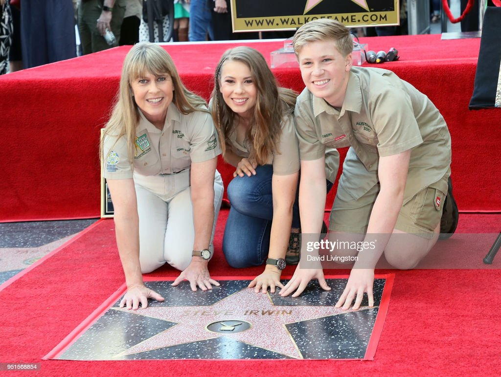 Steve Irwin Honored Posthumously With Star On The Hollywood Walk Of Fame