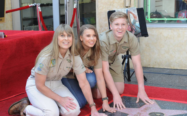 steve irwin honored posthumously with star on the hollywood walk of