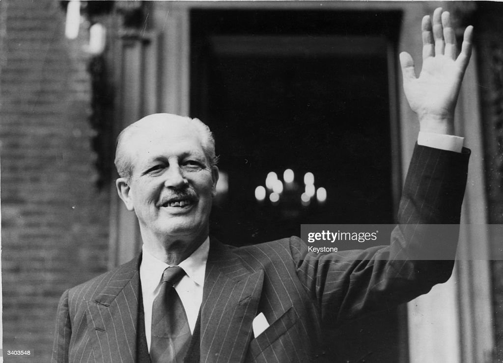 Harold MacMillan : News Photo