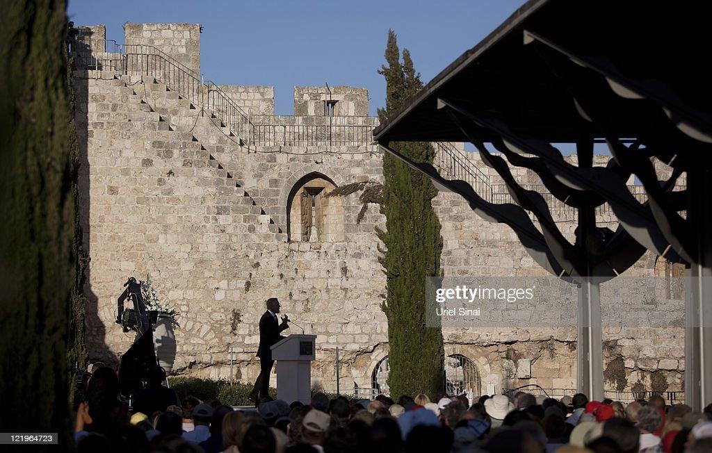 U.S. Broadcaster Glenn Beck Hosts Rally At Jerusalem's Western Wall