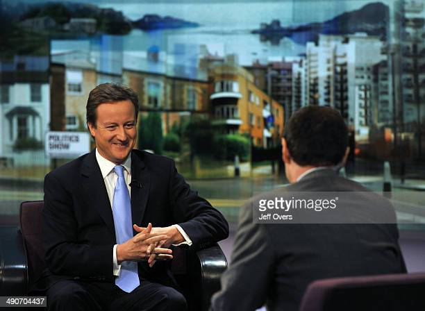 Conservative leader David Cameron interviewed by Jon Sopel on the Politics Show 5th October 2008