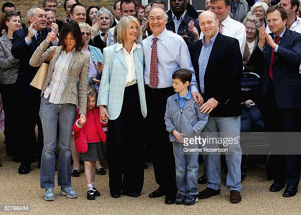 Conservative Leader Michael Howard with Family Alex Dougles-Home,Talluleh Dougles-Home, Sandra Howard, Michael Howard, Lewis Dougles-Home and Shotto...