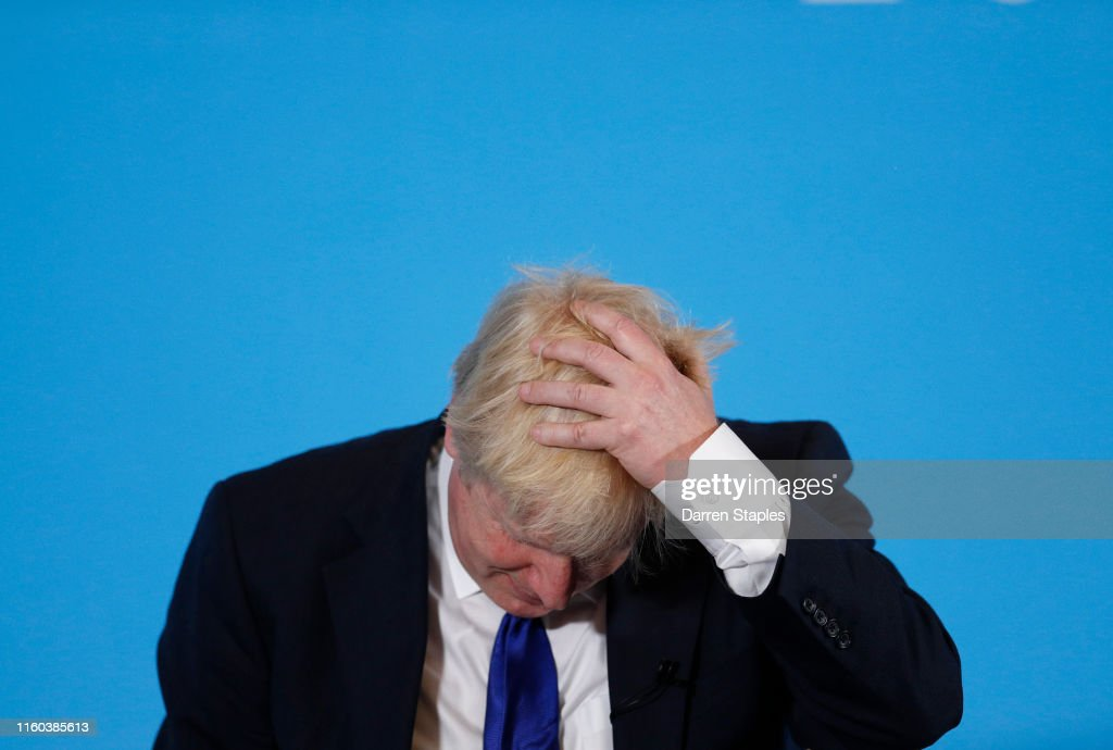 Jeremy Hunt And Boris Johnson Hold Hustings In Nottingham : Nachrichtenfoto