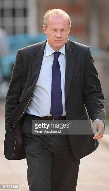 Conservative Member of Parliament Damian Green walks near Parliament on October 12 2009 in London An official report has said that the arrest of the...
