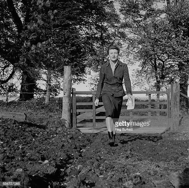 Conservative Member of Parliament for Petersfield Joan Quennell 2nd November 1960