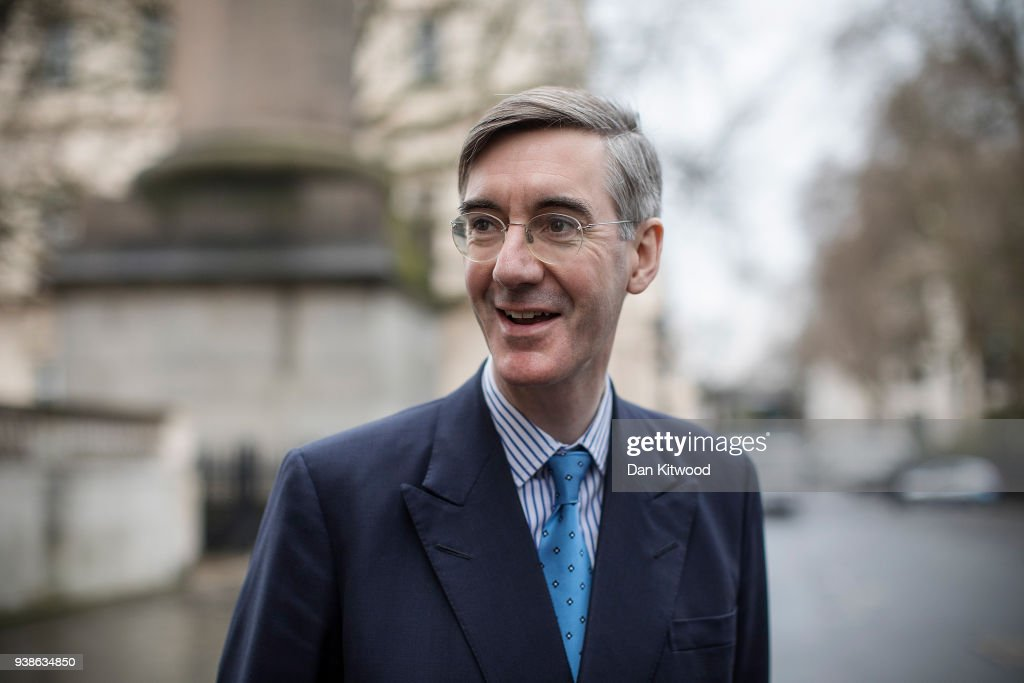 Jacob Rees-Mogg Speaks At Leave Means Leave, Brexit Event