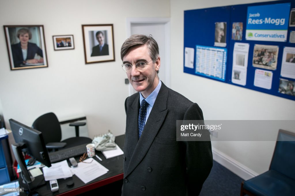Pro-Brexiteer Conservative MP Jacob Rees-Mogg Spends Time In His North-East Somerset Constituency