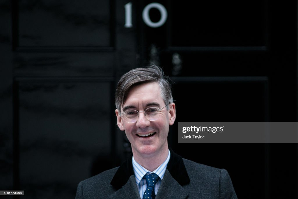 Jacob Rees-Mogg Hands In Petition To Downing Street
