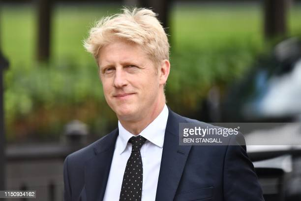 Conservative MP Jo Johnson former minister and brother of leadership contender Boris Johnson is seen at the Houses of Parliament in London on June 20...