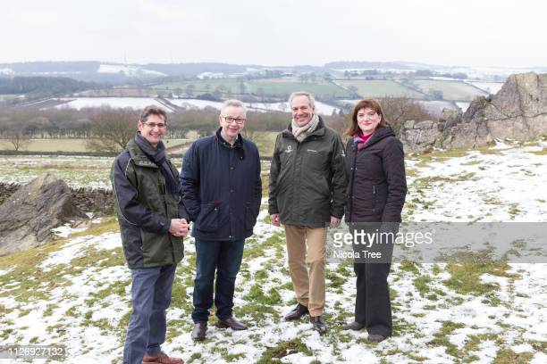 >> on February 1st 2019 in Loughborough England LOUGHBOROUGHENGLAND FEBRUARY 1 Conservative MP Nicky Morgan with Michael Gove secretary of state for...