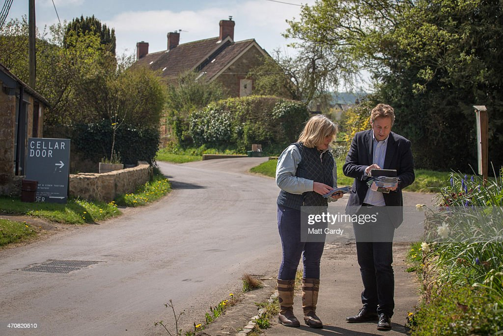 On The Campaign Trail With The Conservatives In Liberal Democrat Territory : News Photo